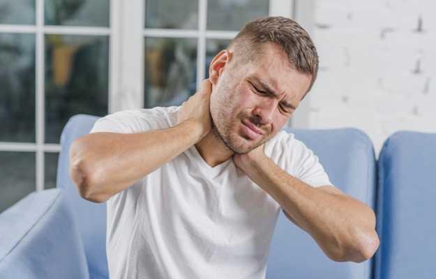 गर्दन में चोट